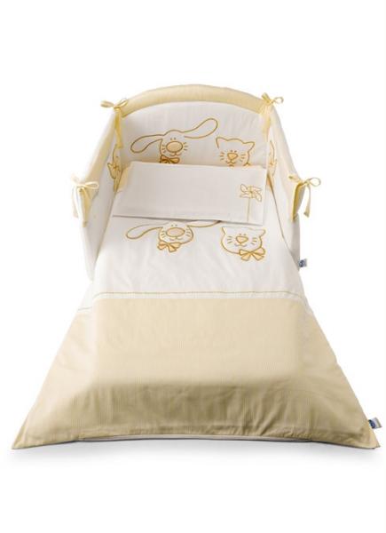Cicci e Coco textilszett – beige-1