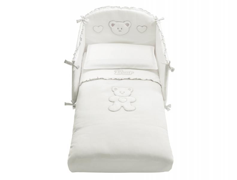 Loving Bear textilszett – fehér-1