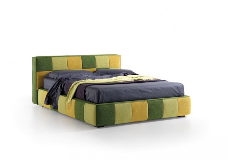 Square kárpitos ágy-2