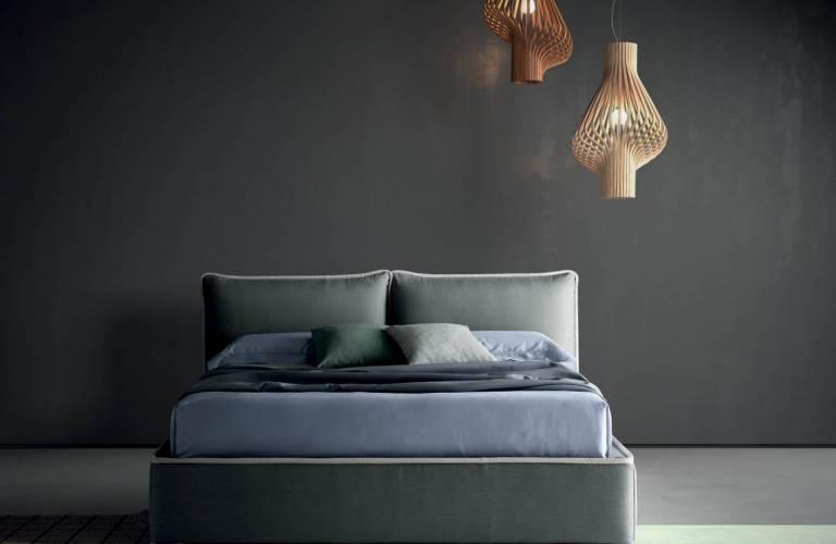 Modern kárpitos ágy-2